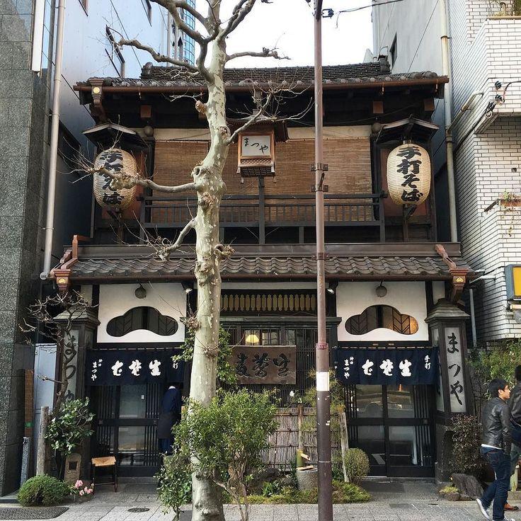神田まつや いつもワイワイガヤガヤ賑わってるいい雰囲気の店 #蕎麦 #神田まつや #神田