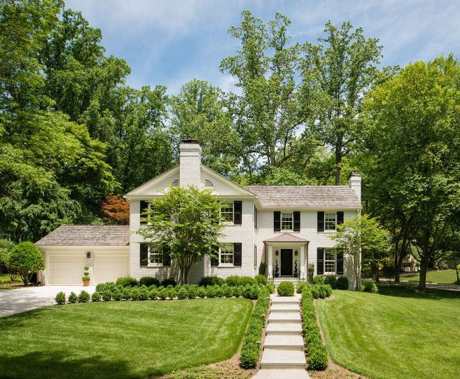 Best 25+ Traditional Brick Home Ideas On Pinterest | Whitewashed Brick,  Traditional Home Exteriors And Cape Cod Exterior