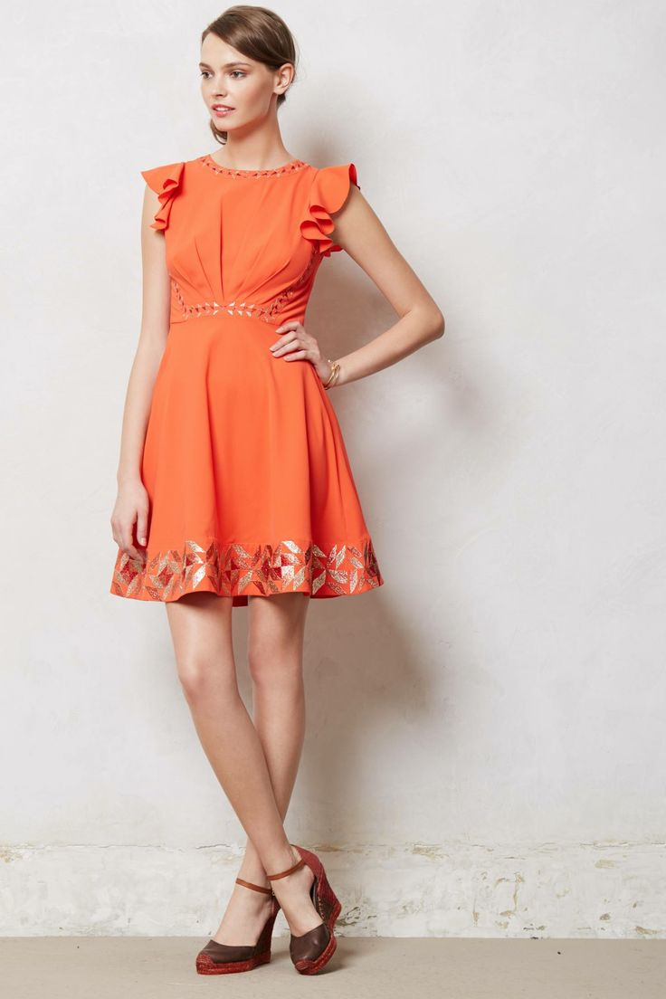 Embroidered Santri Dress - anthropologie.com