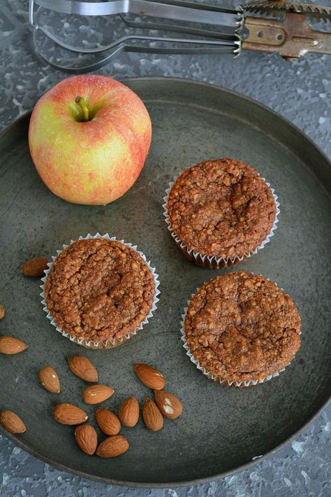 Low Carb Apfel Zimt Muffins #Rezept