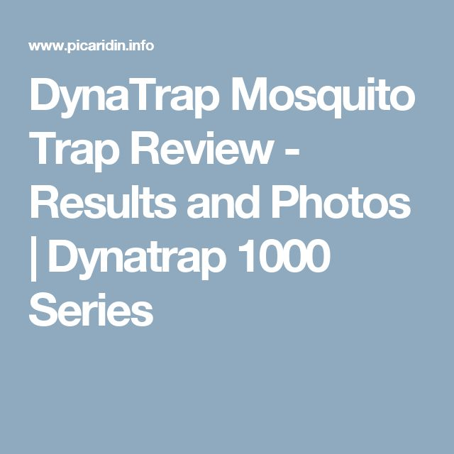 DynaTrap Mosquito Trap Review - Results and Photos | Dynatrap 1000 Series