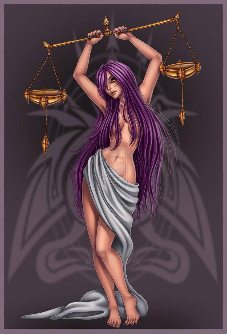 Libra commission by *Harpyqueen on deviantART