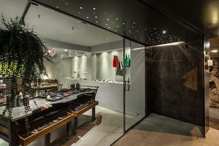 studio APL mano select taipei city taiwan designboom