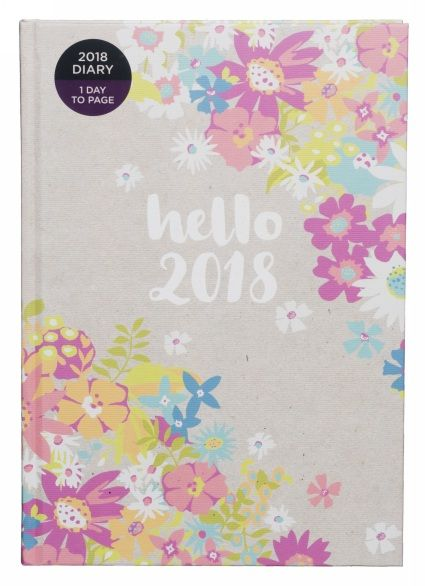 Buy WHSmith 2018 A5 Hello 2018 Diary Day to Page From WHSmith today! FREE delivery to store or FREE UK delivery on all orders over £20