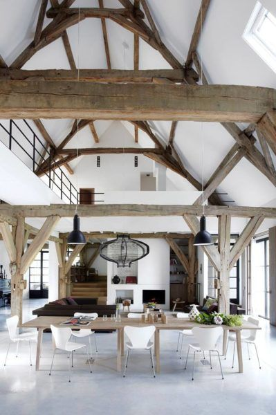 The 25 best hauteur sous plafond ideas on pinterest plans loft scandinavi - Plafond cathedrale decoration ...