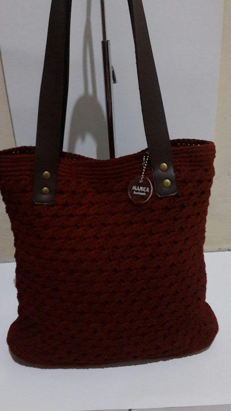 Crochet bag #manka handmade