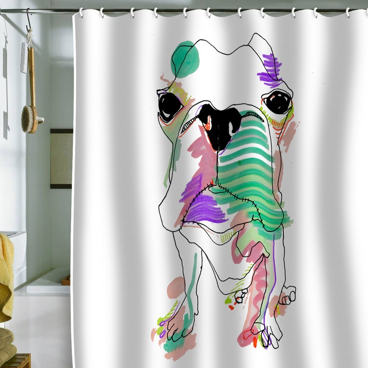 Casey Rogers 'Boston Color' Shower Curtain