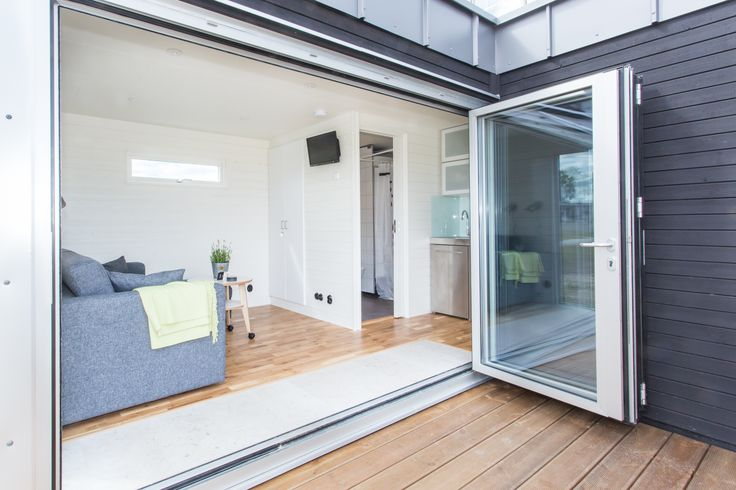 Kenjo-small house of 45 square meters, divided into two apartments. Made for Drömstugan. Photo: Malin Vinblad
