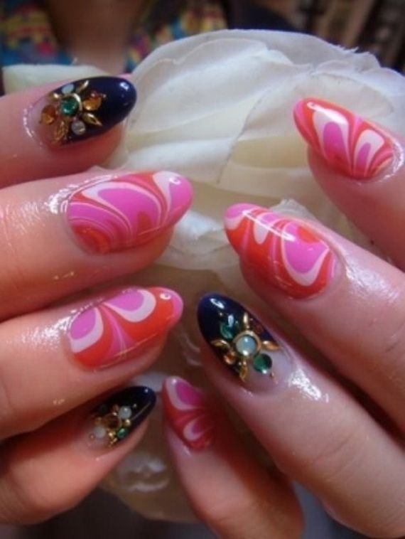 The 53 best Christmas Nail Art Designs images on Pinterest ...