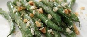 Ricetta Insalata Dietetica Di Fagiolini, Noci e Formaggio: 163 Calorie