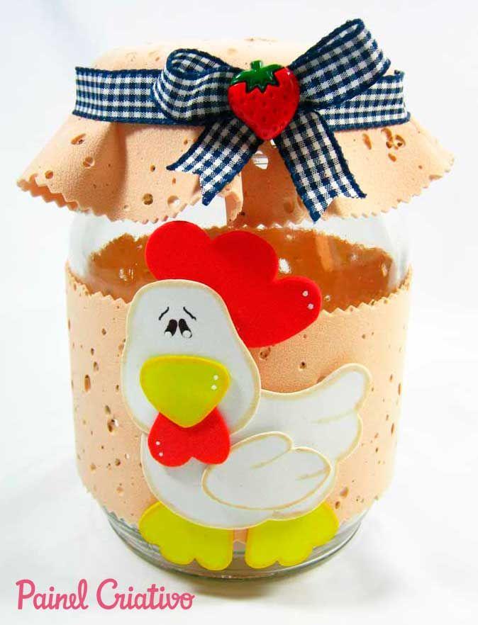 lembrancinha dia das maes potinho vidro decorado cozinha eva (7)