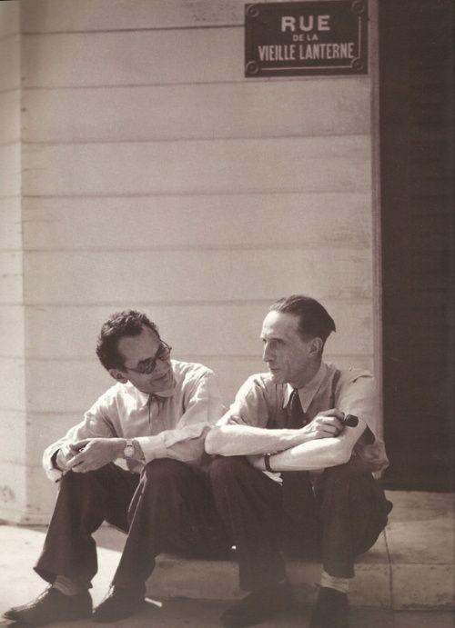 Man Rayand Marcel Duchamp