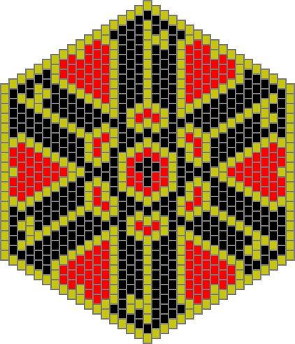 Graphing Patterns - Mandalas - Beadwork