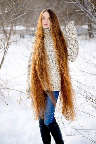 rapunzel in wintertime
