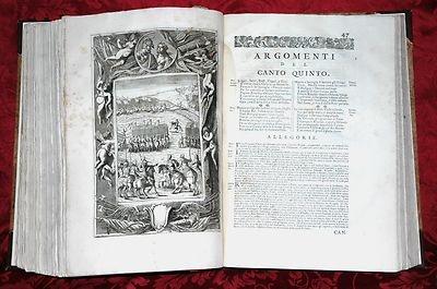 Opere di Lodovico Ariosto Venice 1730 Stefano Orlandini Folio 52