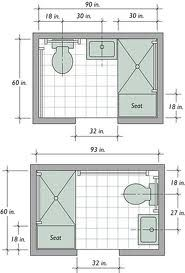 small bathroom layout 5 x 7 google search - 4 X 5 Bathroom Designs