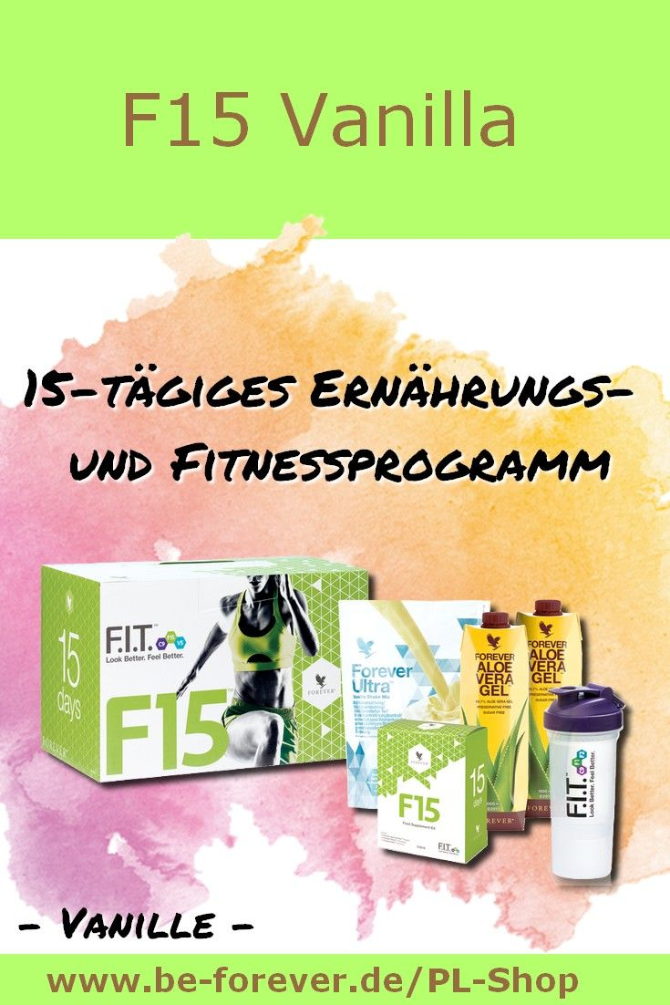 F15 Vanilla: 15-tägiges Ernährungs- und Fitnessprogramm