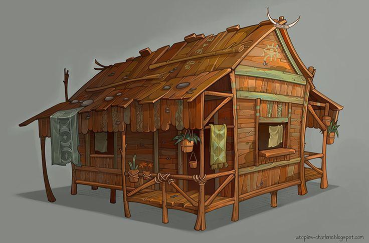 ORANGE HOUSE by Catell-Ruz.deviantart.com on @deviantART