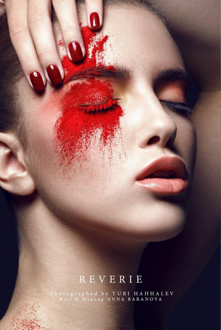Reverie - Photographed by Yuri Hahhalev Hair & Makeup Anna Baranova Model Getrud // Yes Right Models Nails Viktorija Prihodko // Iryna Giblett NDE Retouch Vitaliy Urazov