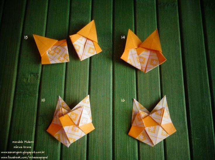 HIDEMI     Continuando a explorar os triângulos isósceles, criei para Hidemi Tokui que fez aniversário recentemente, essa mandala - e com...