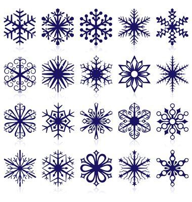 Snowflake tattoo...might do a tiny one of the bottom left snowflake in white ink, behind my left ear. by janis