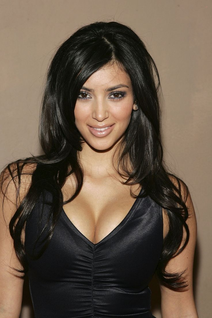 When she used to look like this >>>>... - Kim Kardashian Style