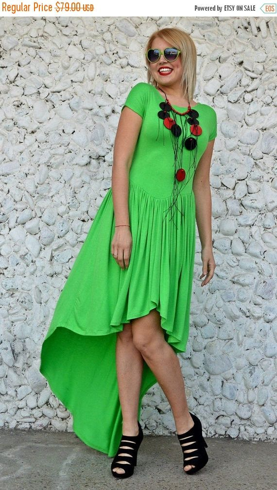 New in our shop! ON SALE Asymmetrical Light Green Dress, Flared Light Green Dress with Long Tail, Extravagant Spring Dress, Light Green Dress TDK238, Rise https://www.etsy.com/listing/515801803/on-sale-asymmetrical-light-green-dress?utm_campaign=crowdfire&utm_content=crowdfire&utm_medium=social&utm_source=pinterest
