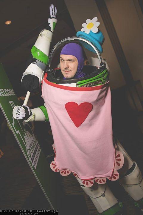 Hilarious Buzz Lightyear!  <-- That is Mrs. Nesbitt, you uncultured walnut.