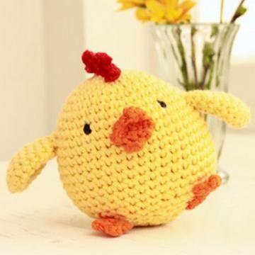chicken little amigurumi pattern