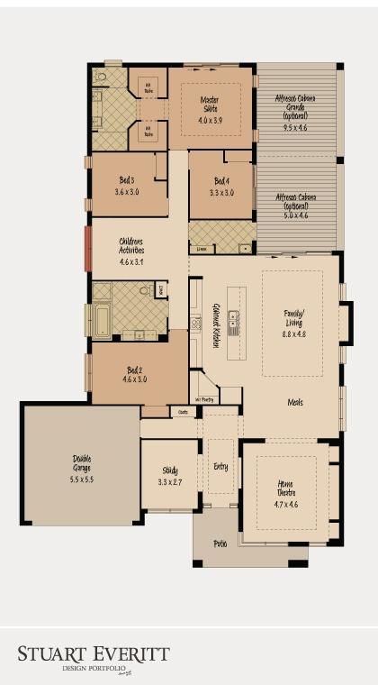 McDonald Jones Homes - The Monte Carlo Collection - Floorplan #floorplans #luxuryhome