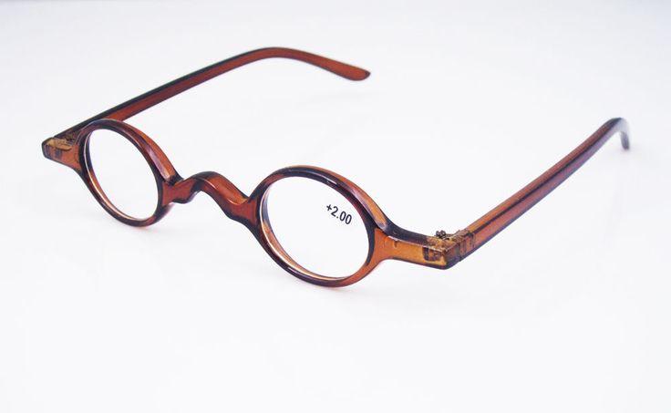 Small Designer Eyeglass Frames : Details about Designer Small round Oval Vintage Reading ...