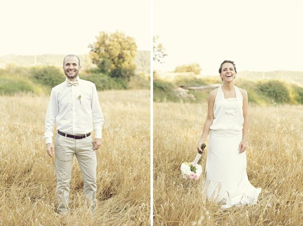 La boda en el campo de María y Manel {Foto, 3 deseos y medio // Organización, Fueron Felices} #realwedding #spain