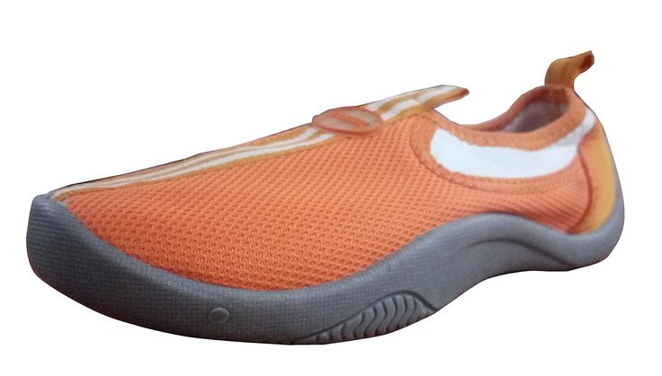 TOOSBUY Childrens Slip-On Athletic Water Shoes/Aqua Socks (Toddler/Little Kid) Oran6. Water shoe, perfect for the Beach , Exercise or Pool. Quick-drying mesh upper. Comfortable Removable Insole. Sacking shoe-pad.