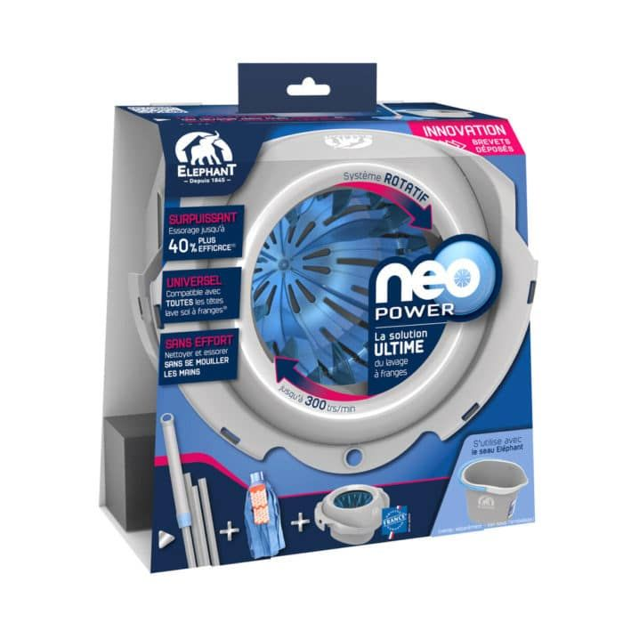 Ensemble Neo Power Avec Images Laver Sol Nettoyage Balai Brosse