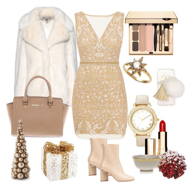 Untitled #3 by ioana-constantin-1 on Polyvore featuring Nicole Miller, STELLA McCARTNEY, Maison Margiela, Michael Kors, Anzie, Chico's, Ashlyn'd, Clarins, Herend and Melrose International