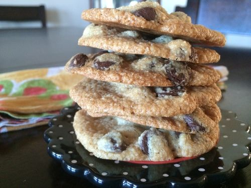 These are seriously the best paleo chocolate chip cookies I have ever made! And probably the easiest too. My new go to for every barbecue.