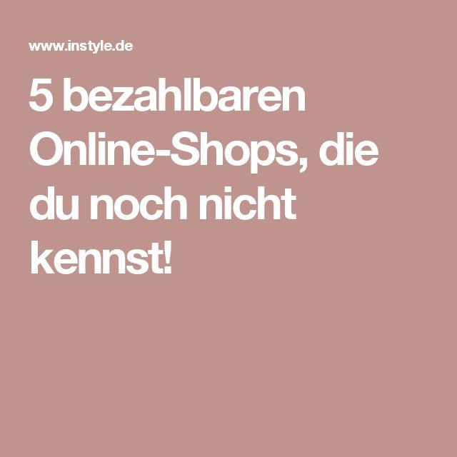 5 bezahlbaren Online-Shops, die du noch nicht kennst!