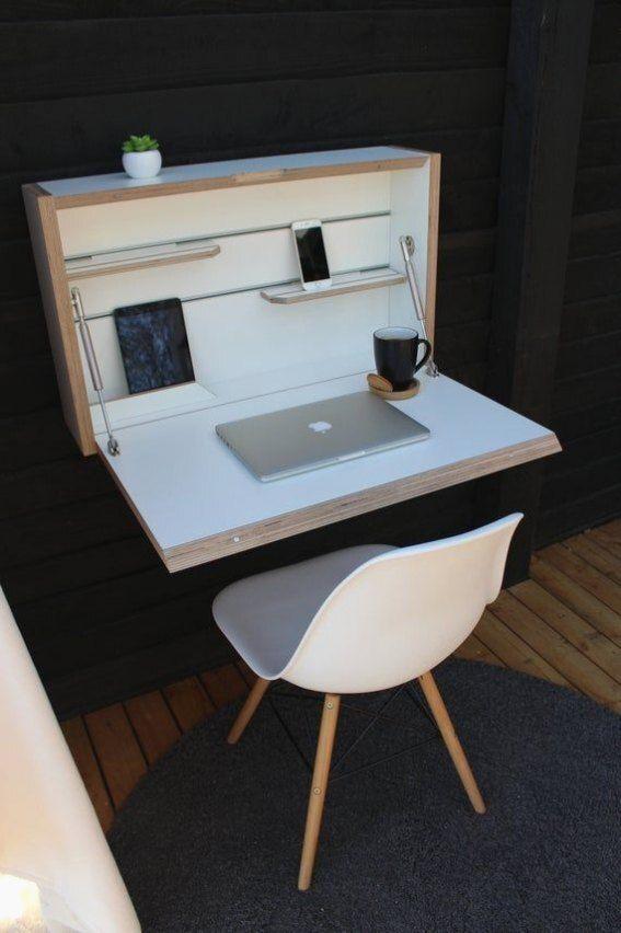 Platzsparender Tisch Schreibtische Fur Kleine Raume Schwimmschalter