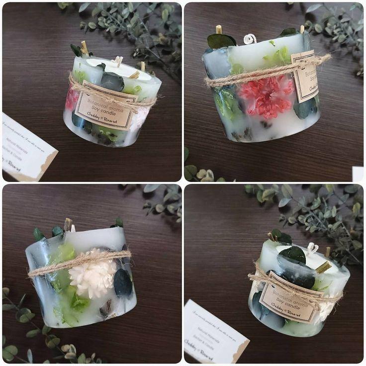 最近旅立ったソイキャンドル達♡ キャンドル部分はソイ(大豆)ワックスでできているボタニカルです♡ 手間がかかるぶん、一つひとつ愛着が湧きます♬  #chubby_round #handmade#natural#materials #aroma#candle#soywaxcandles #essentialoil#botanical #flower#herb#dryflower #present#gift#minne #ボタニカル#アロマ#キャンドル #ソイキャンドル#ハンドメイド #インテリア#プレゼント #ギフト#癒し#紫陽花#ユーカリ