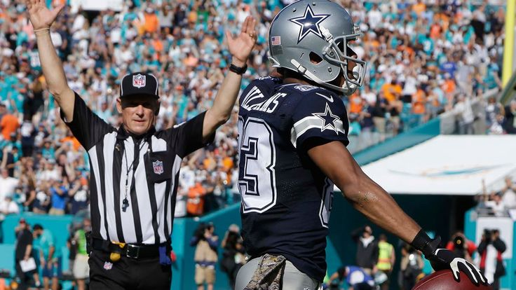 Tony Romo Finds Terrance Williams for a Big TD!   Cowboys vs. Dolphins  ...