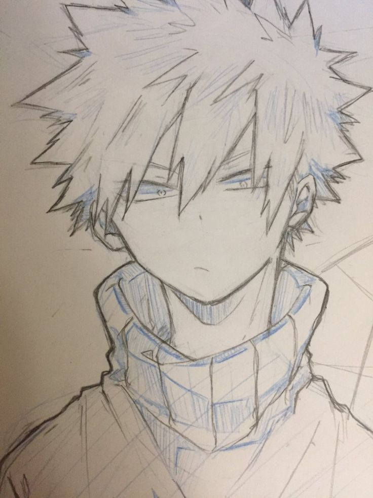 Easy Bakugou Drawing : bakugou, drawing, Bakugou, Katsuki, #Bakugou, #Katsuki, Anime, Character, Drawing,, Sketch,, Drawings, Sketches
