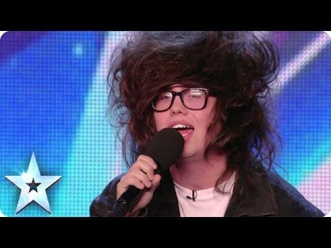 Nick Celino gives a hair-raising performance of Wrecking Ball | Britain's Got More Talent 2014 - YouTube
