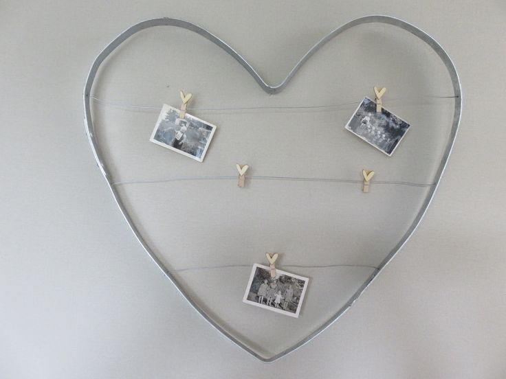 Wine Barrel Ring Heart Noticeboard