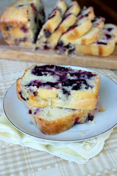 Lemon-Bluberry Yogurt Loaf