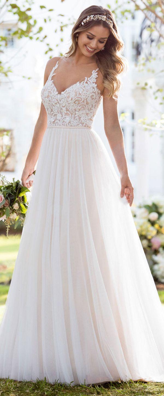 Corset Organza Wedding Dress By Camille La Vie | love | Pinterest ...