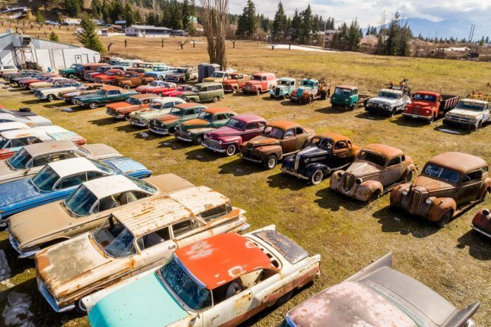 Over 340 Vintage Cars Included In Land Sale – GAS MONKEY GARAGE | RICHARD RAWLINGS | FAST N' LOUD