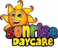Cartoon mascot logo design for daycare concept idea