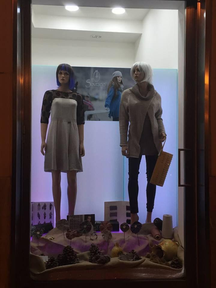 Bonnie & Clyde vetrina Sovrano Tricot