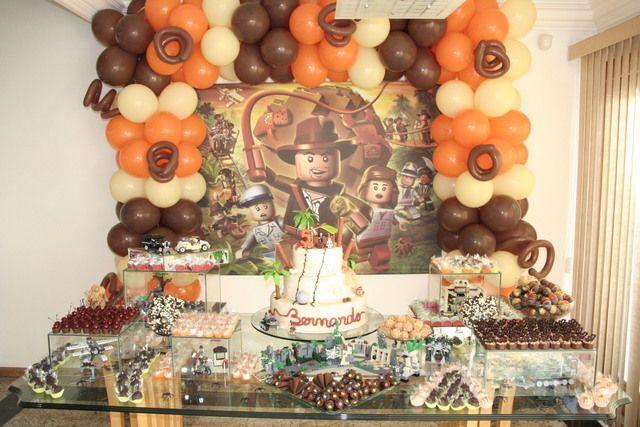 Indiana jones lego birthday party ideas indiana jones party lego birthday and colors - Indiana jones party decorations ...