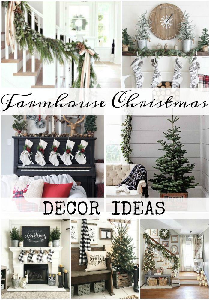 Farmhouse Christmas Decor Ideas Christmas Decorating Ideas